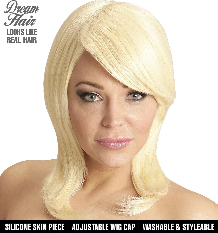 Pruik blond