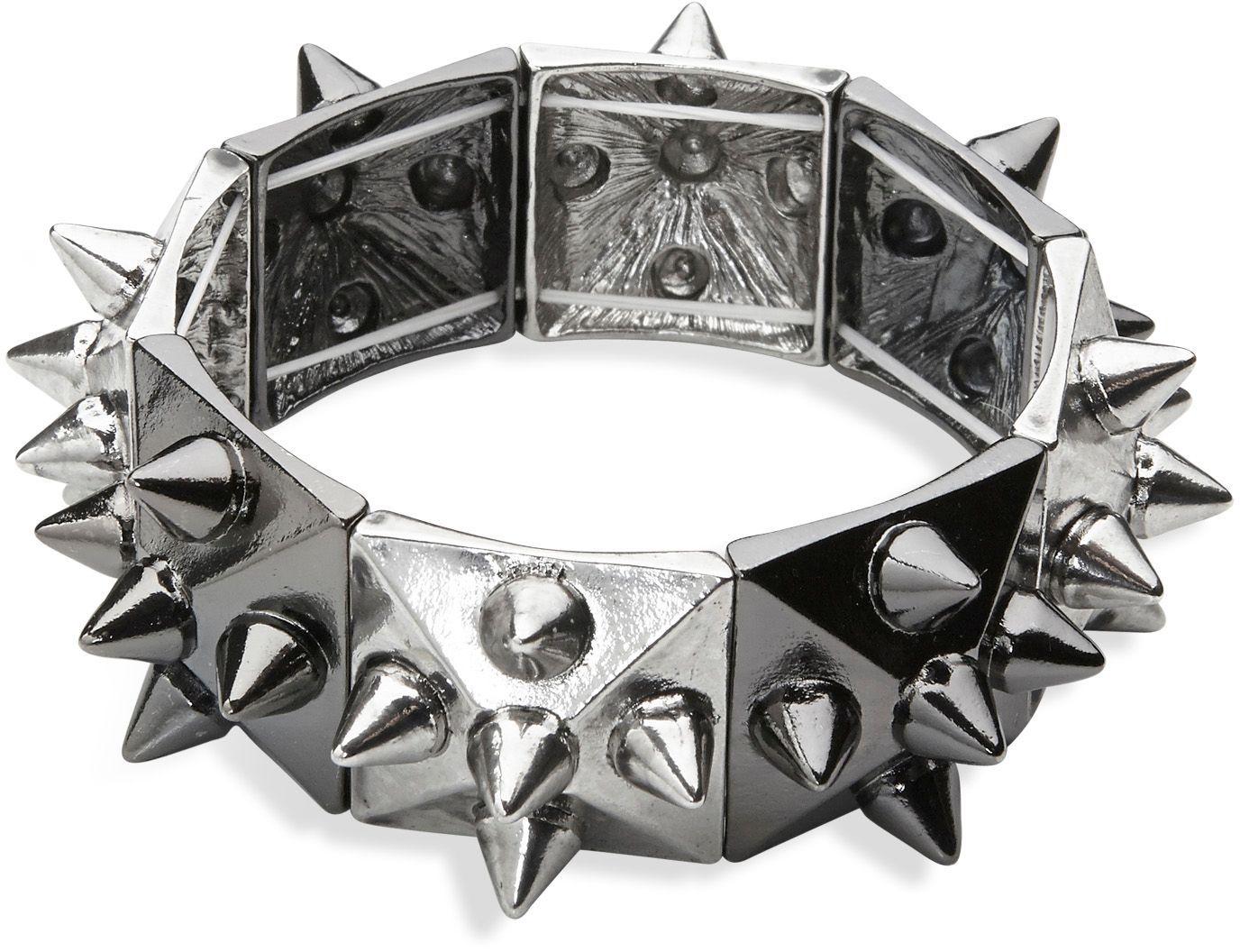 Punk armband zilver