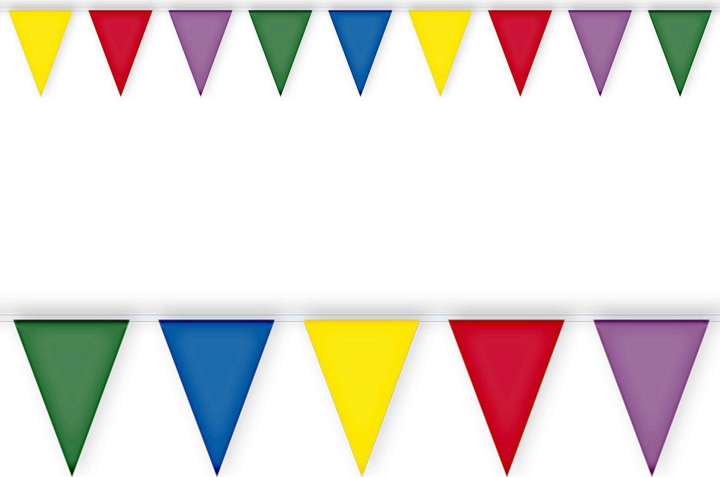 PVC vlaggetjes slinger
