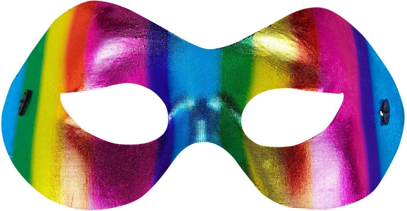 Regenboog oogmasker uniseks