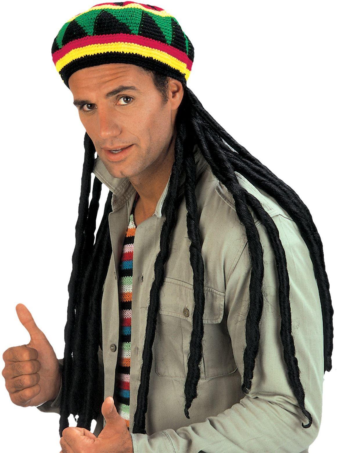 Reggae muts met dreadlocks
