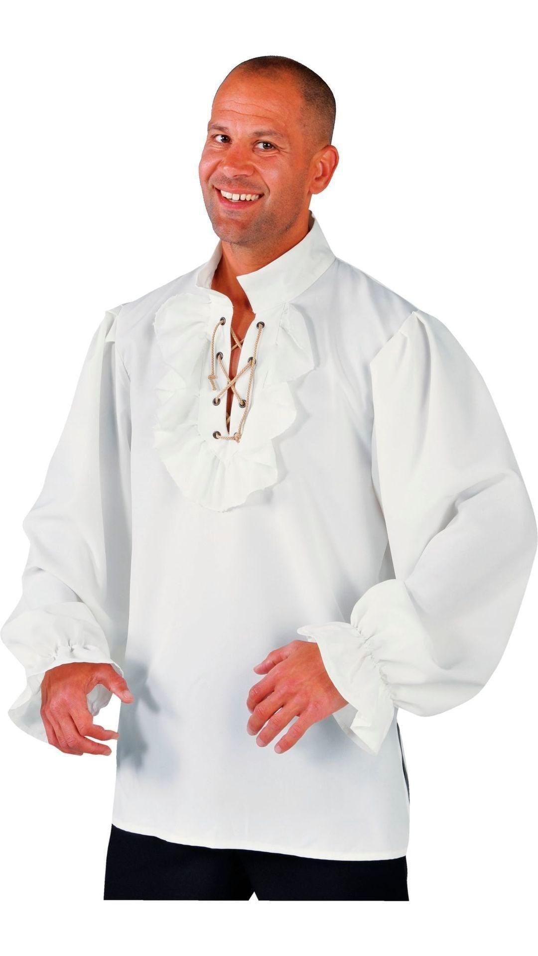 Renaissance blouse piraat mannen