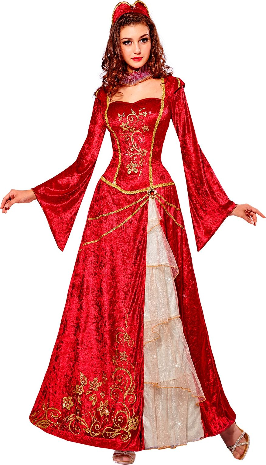 Renaissance prinses kostuum