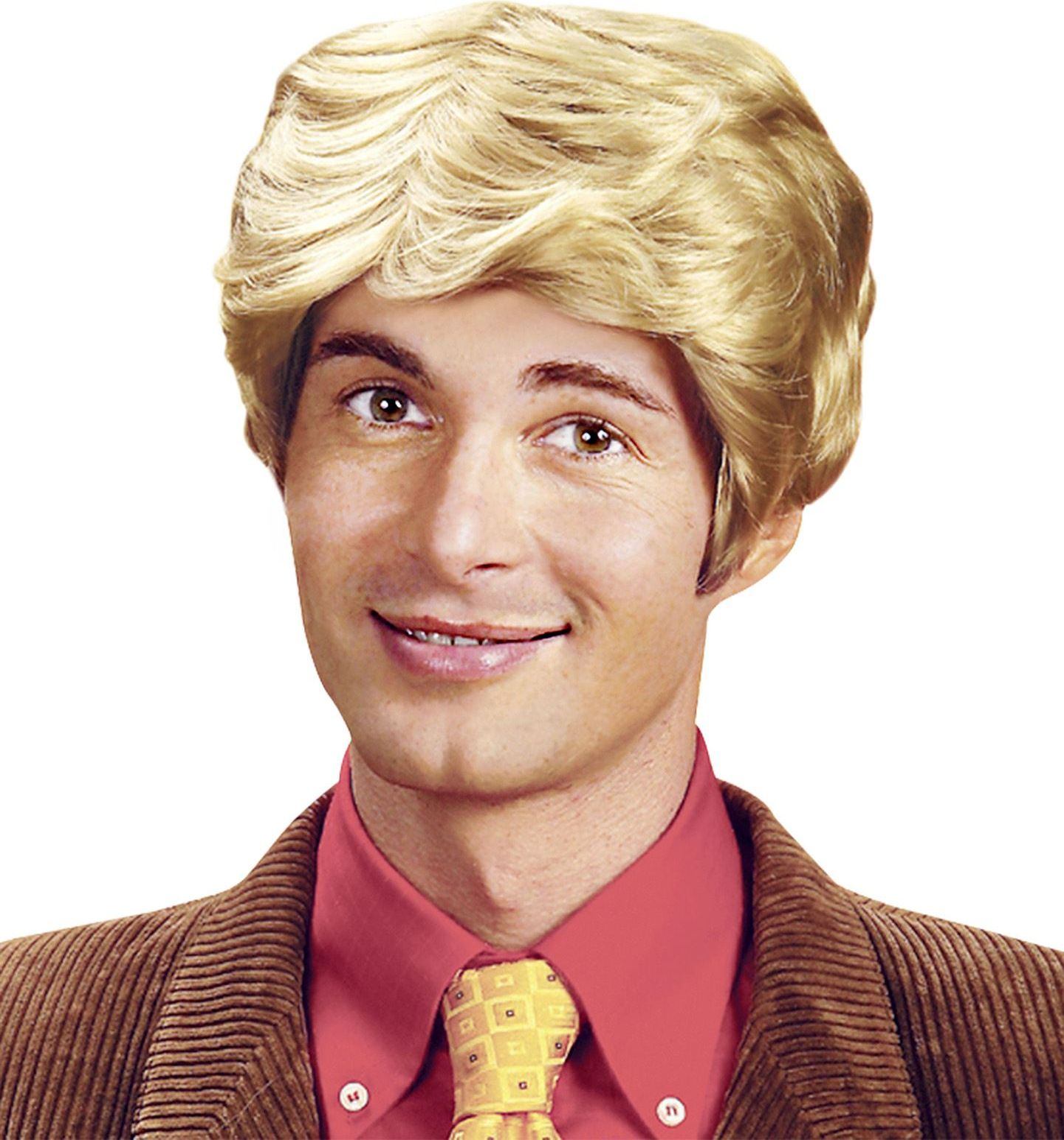 Rick pruik blond