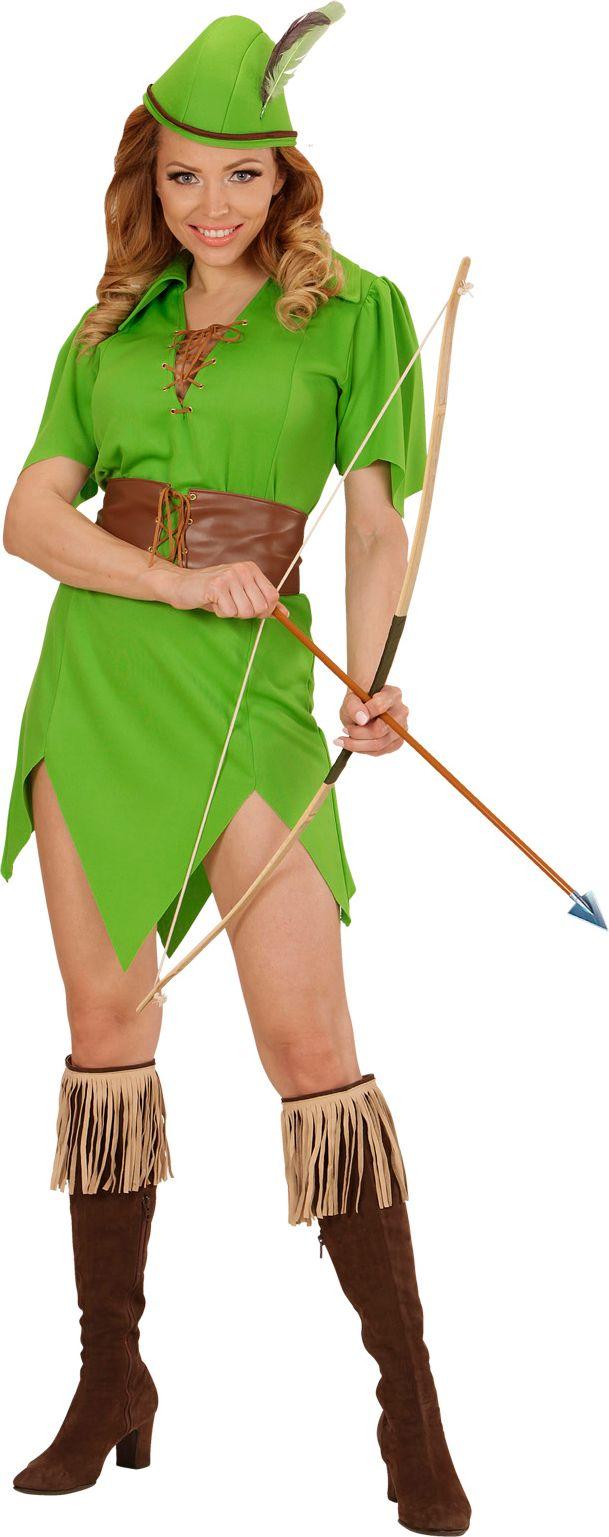 Robin hood kostuum dames