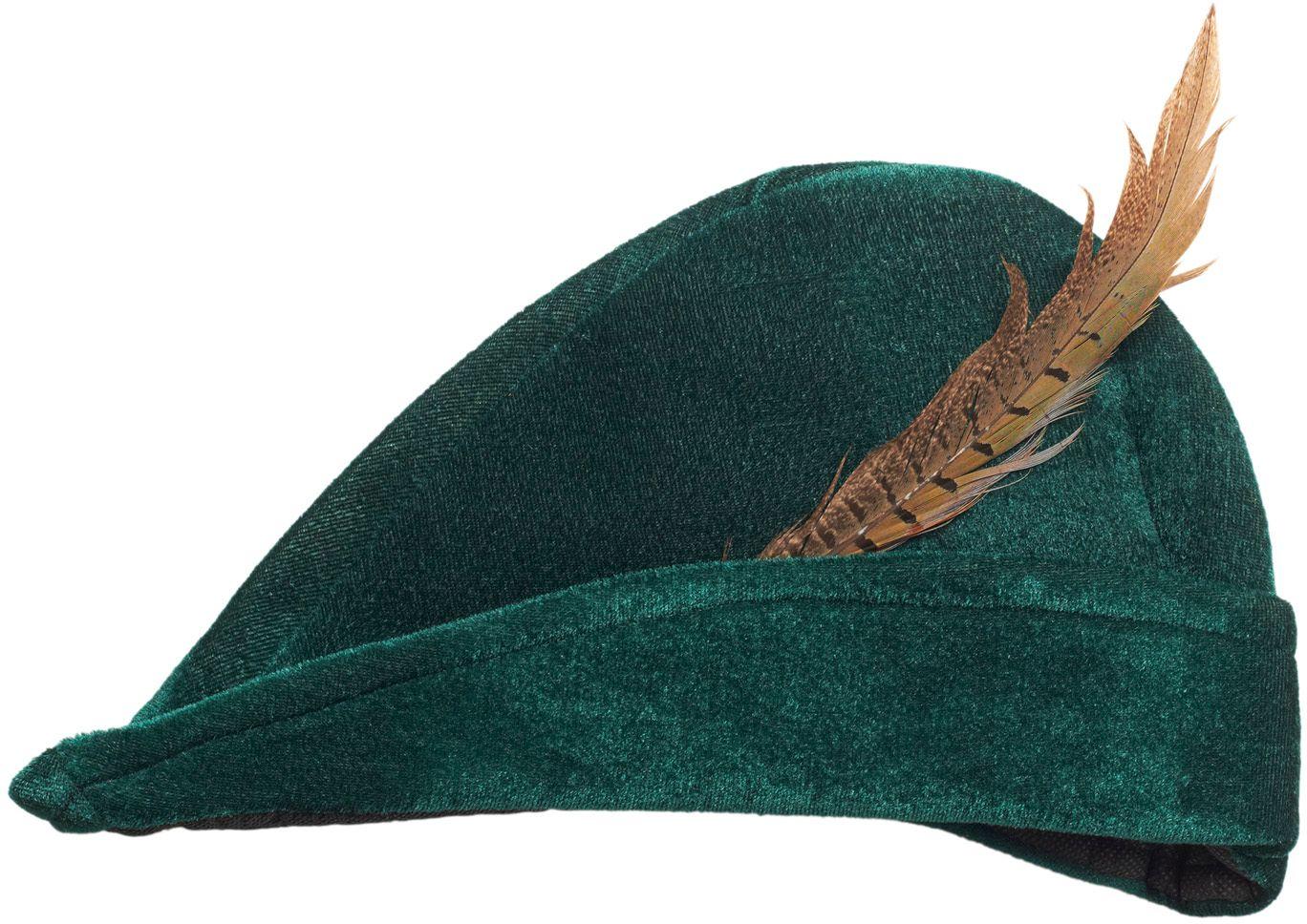 Robin Hood muts met veer