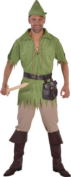 Robin Hood pak groen mannen