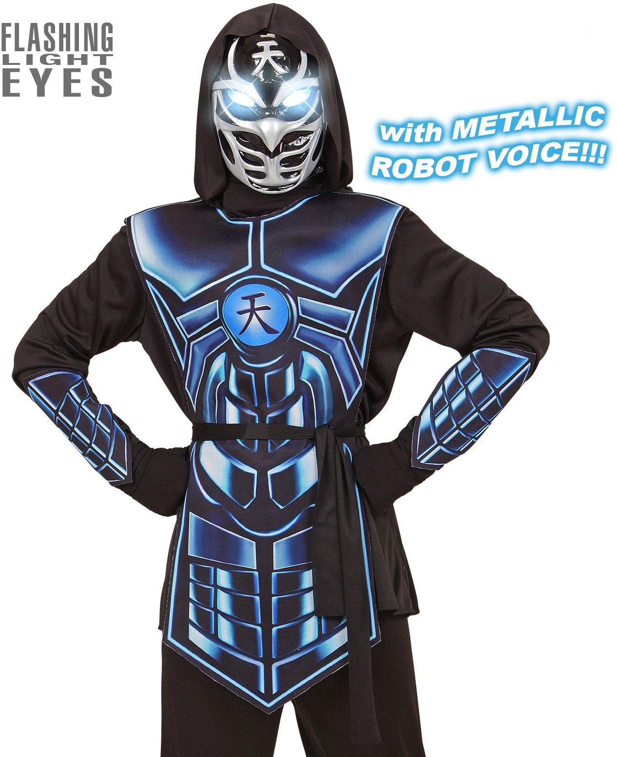 Robot ninja kostuum