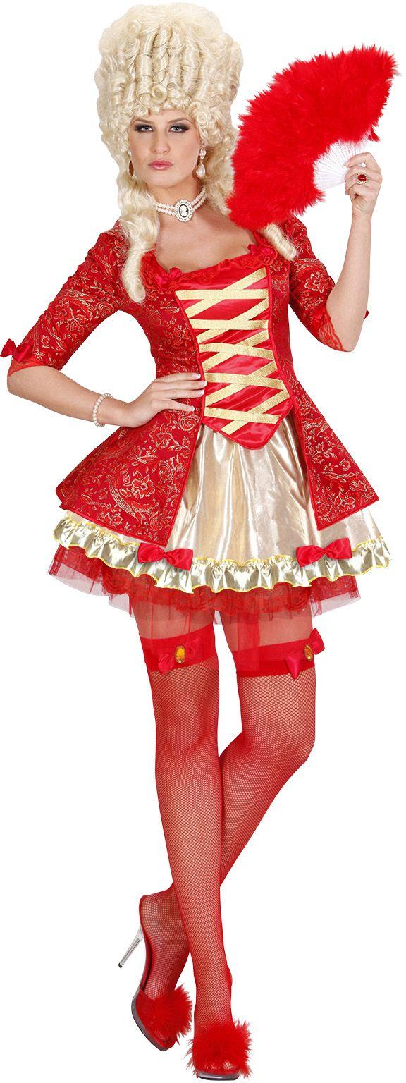 Rode Barok kleding