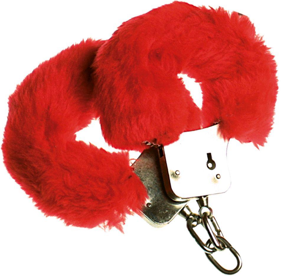 Rode bonten handboeien