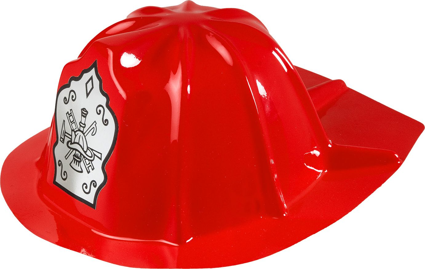 Rode brandweer helm