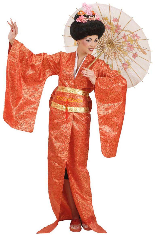 Rode geisha carnaval