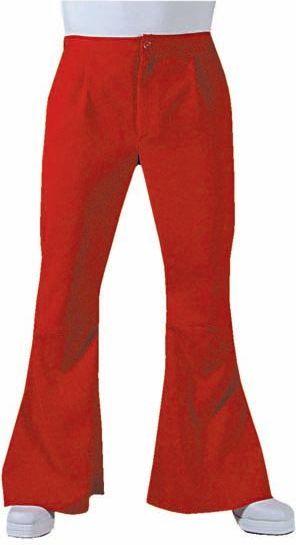Rode hippie broek