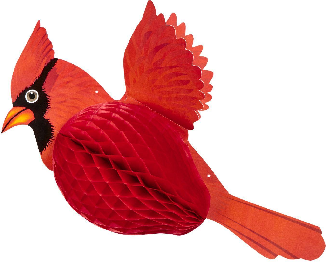Rode kardinaalvogel honingraat
