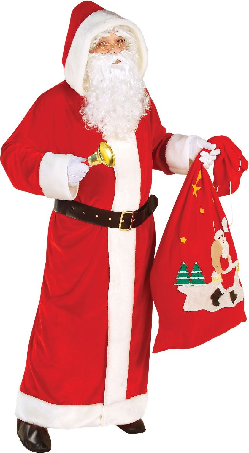 Rode kerstman jas