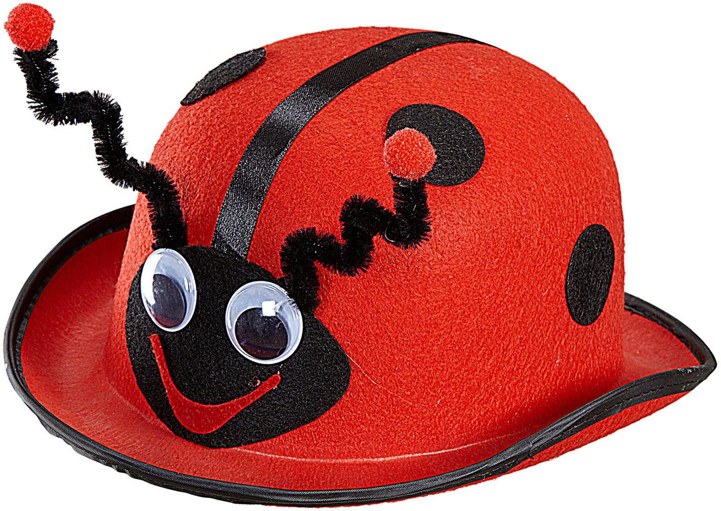 Rode lieveheersbeestje hoed