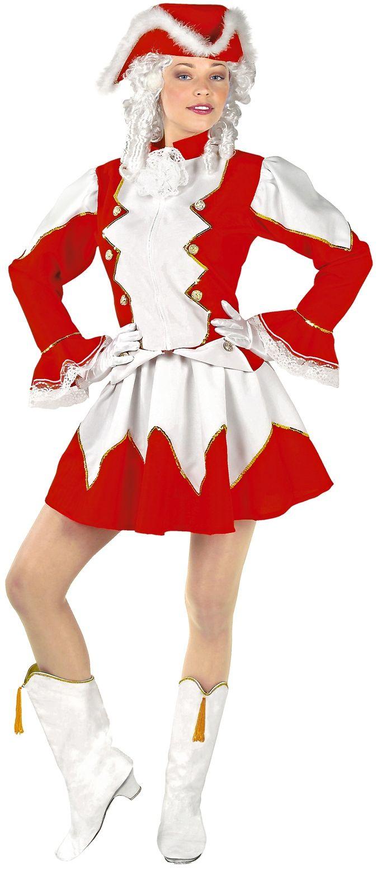 Rode majorette kleding