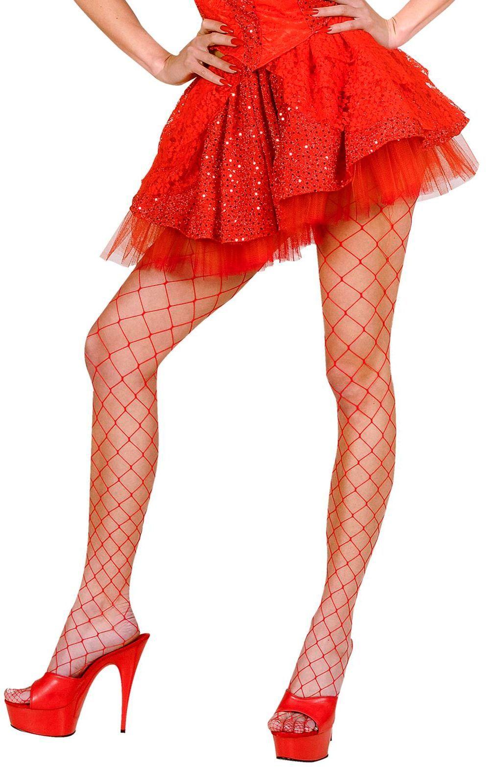 Rode rok met onderrok