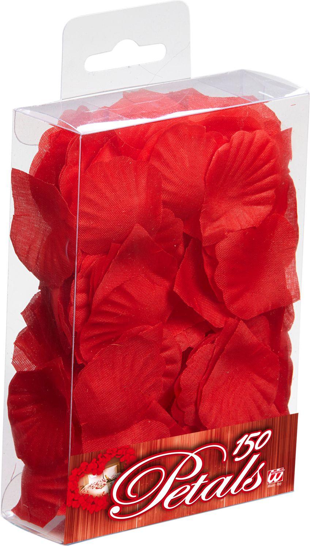 Rode rozen blaadjes 150 stuks