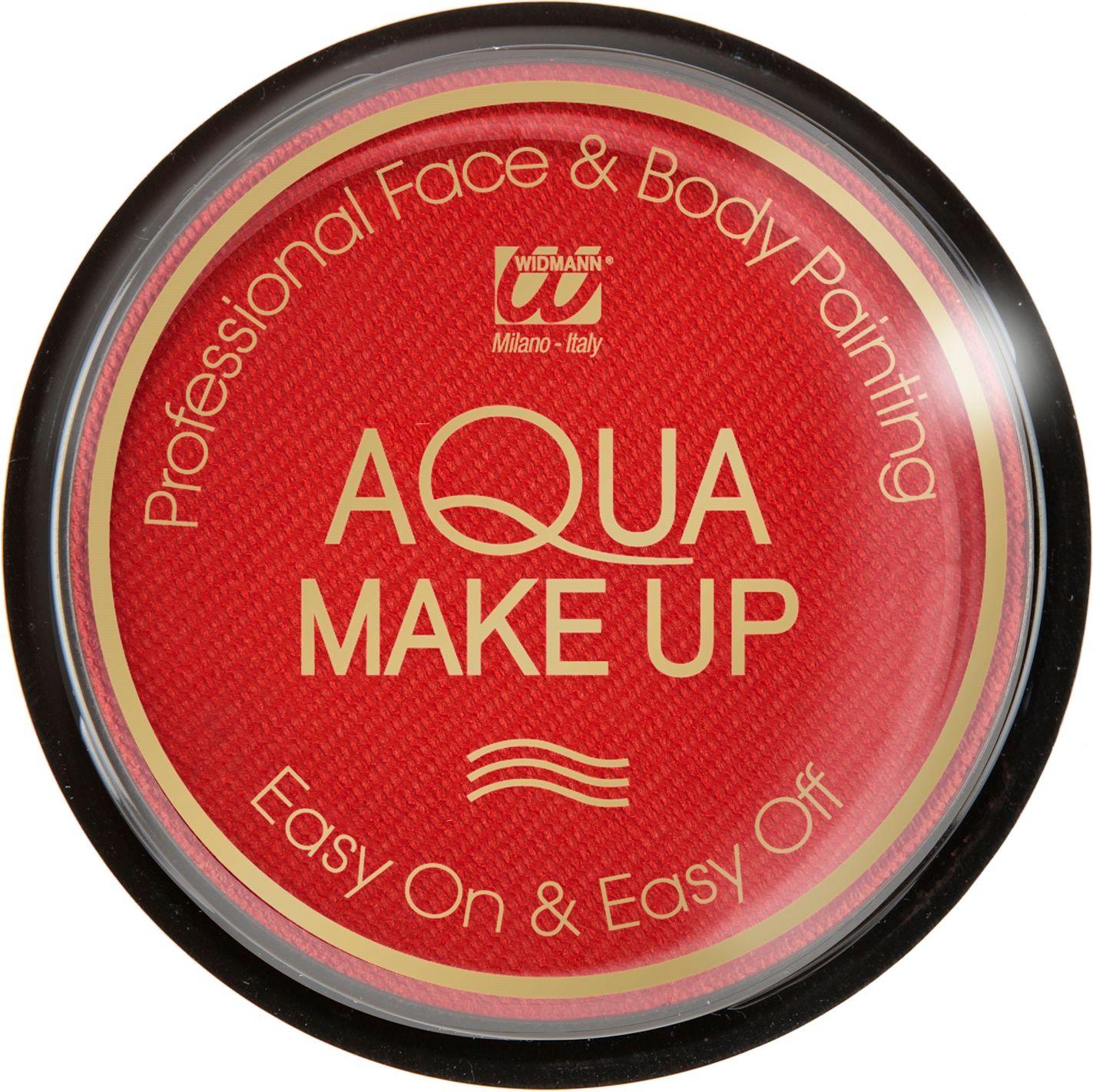 Rode waterbasis make-up