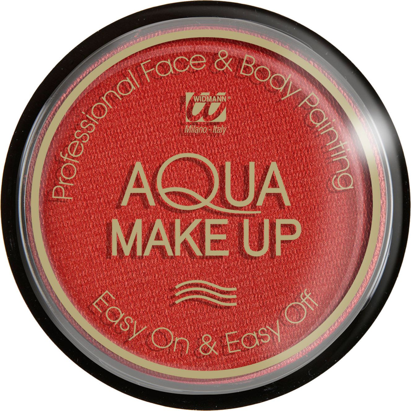 Rode waterbasis make-up metallic