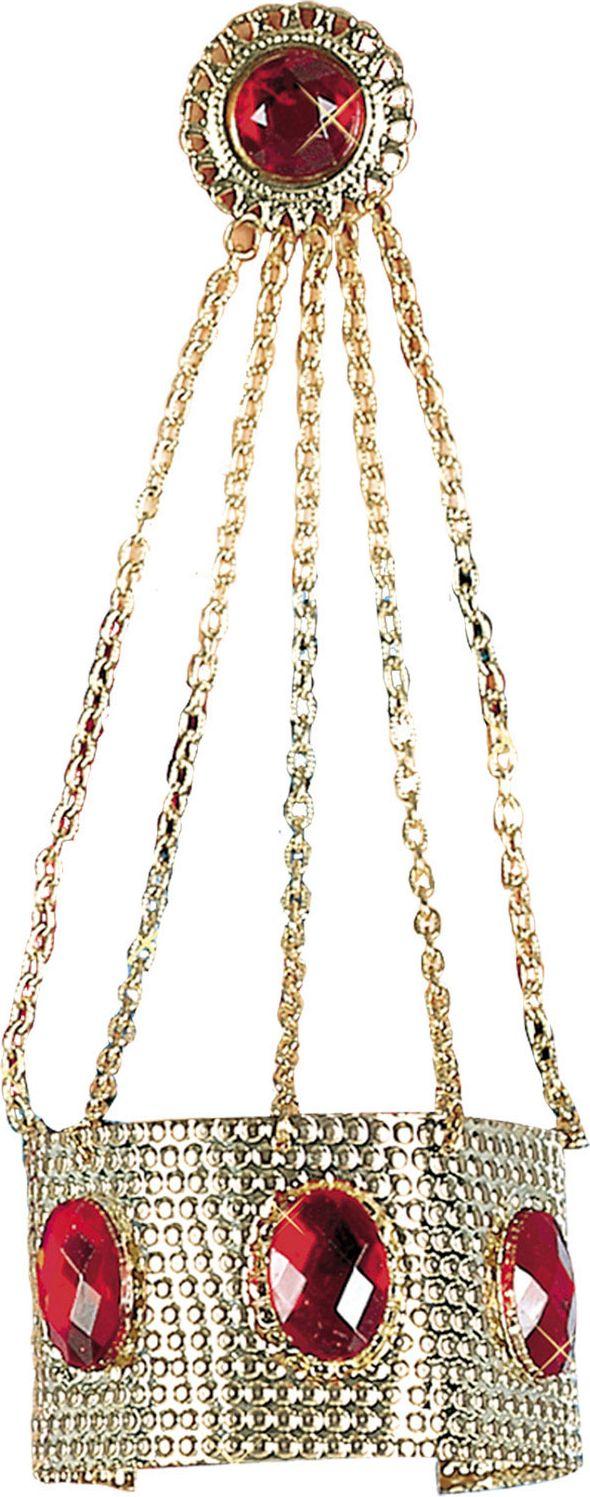 Romeinse armband met kettingen en ring