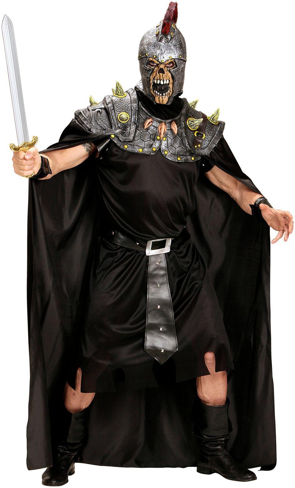 Romeinse centurion masker met cape One-size-volwassenen