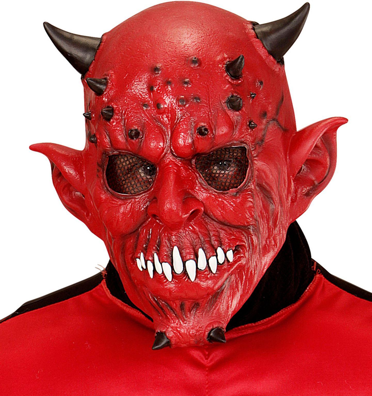 Rood duivelmasker