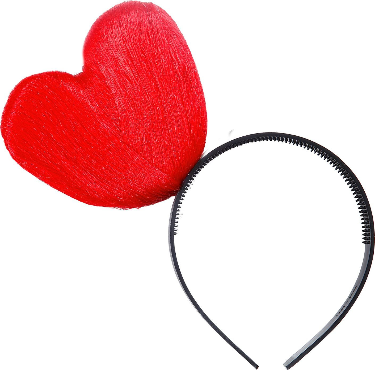 Rood hart hoofdband