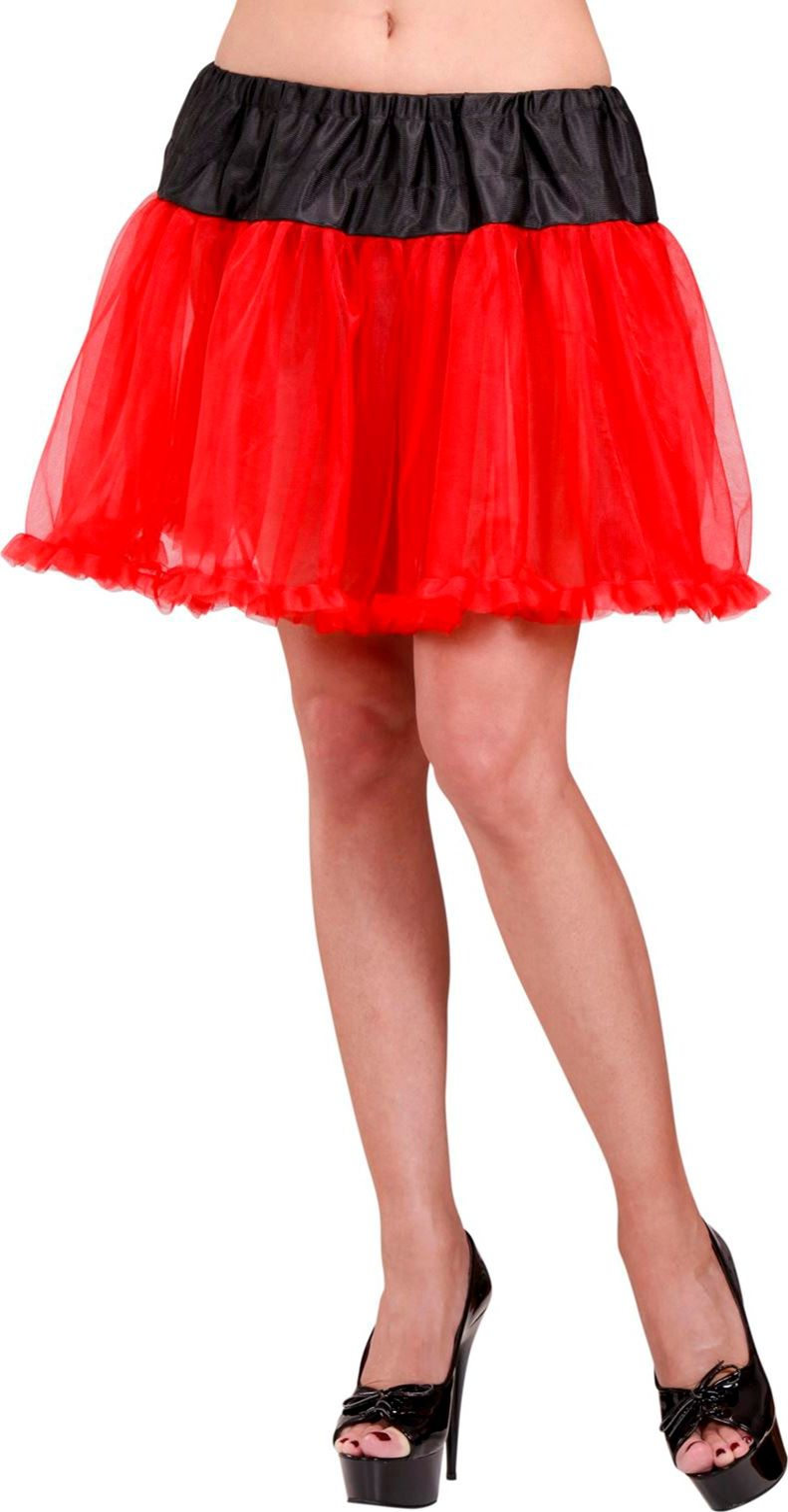 Rood zwarte rok