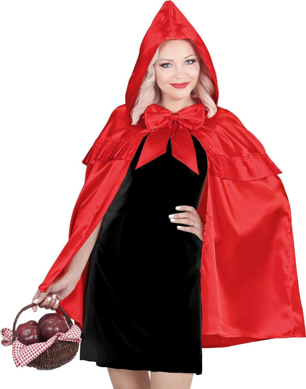 Roodkapje cape dames