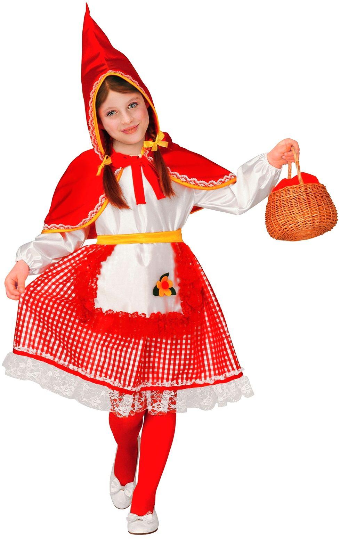 Roodkapje meisjes outfit