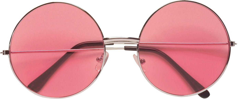 Roze 70s bril