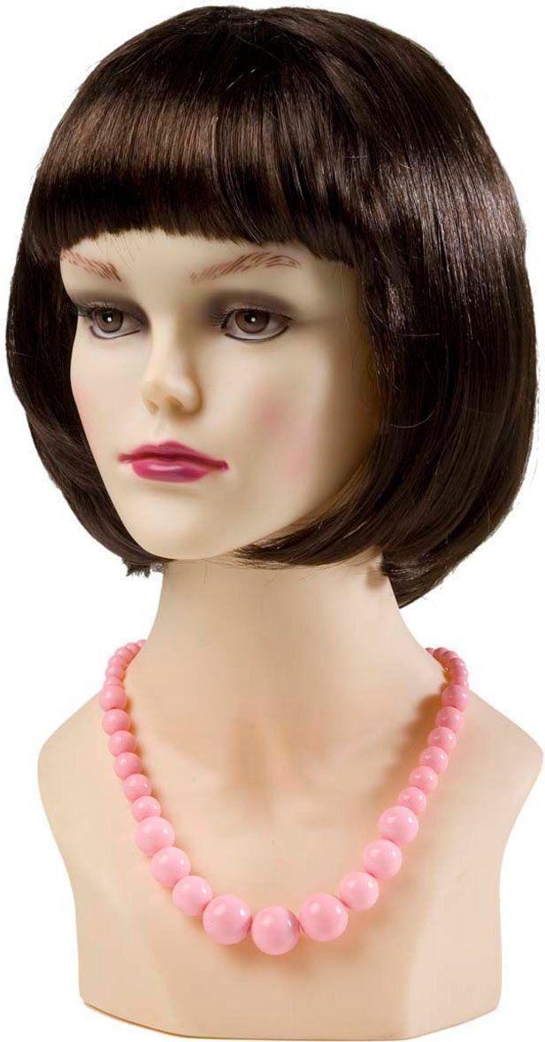 Roze 70s ketting