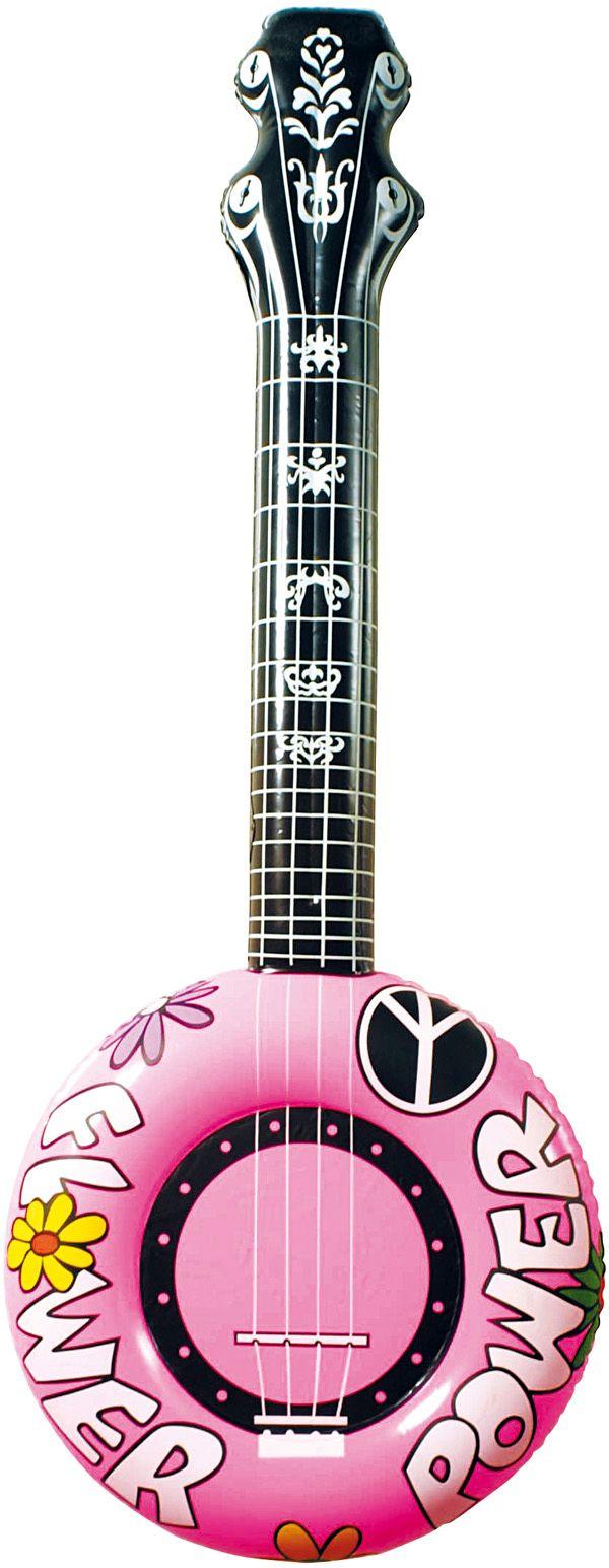 Roze banjo opblaasbaar