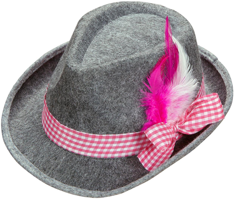 Roze beierse hoed