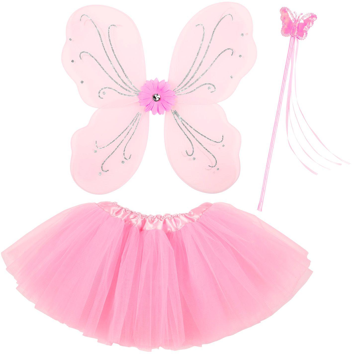 Roze feeën set