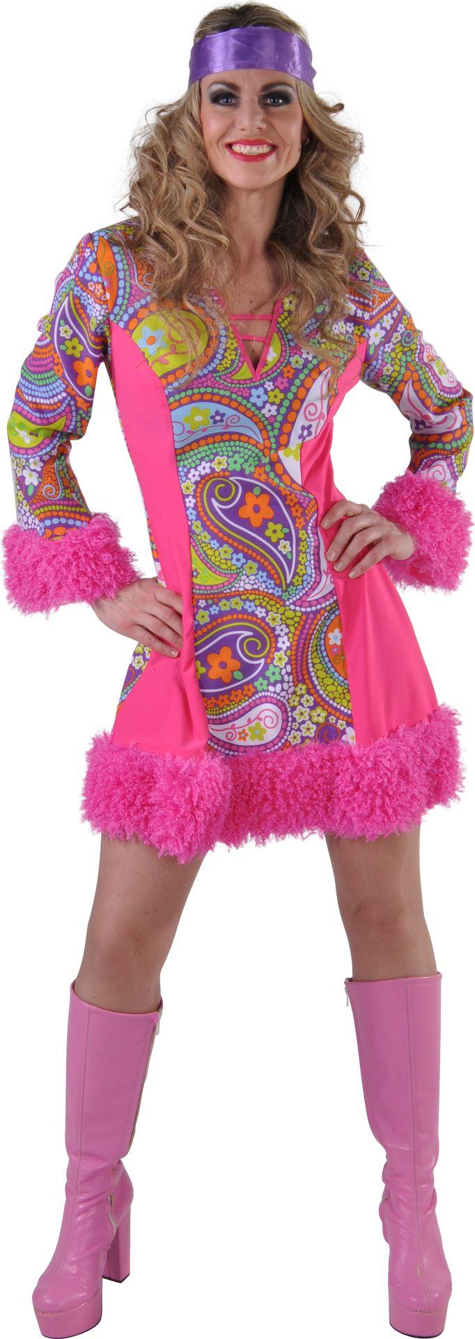 Roze funky jurkje