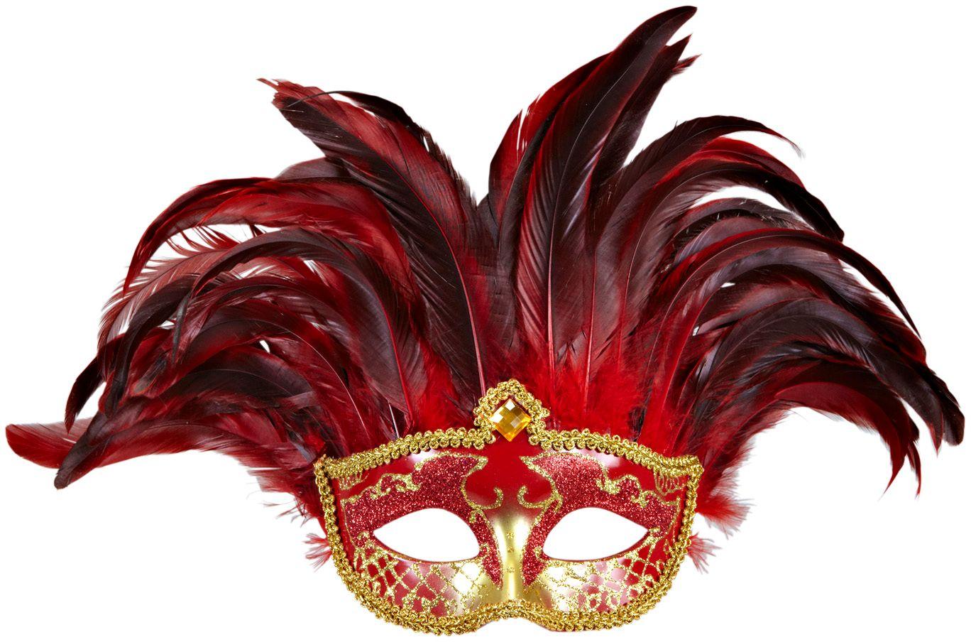 Roze inca's masker