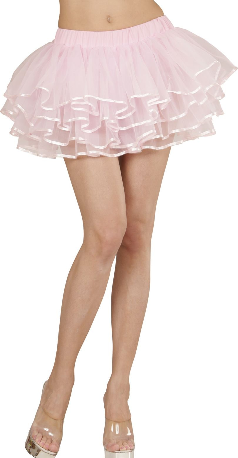 Roze luxe ballerina rokje