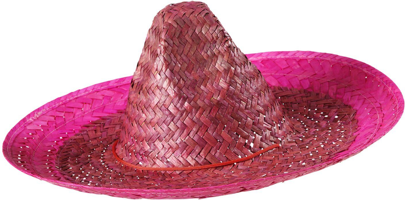 Roze mexicaanse sombrero