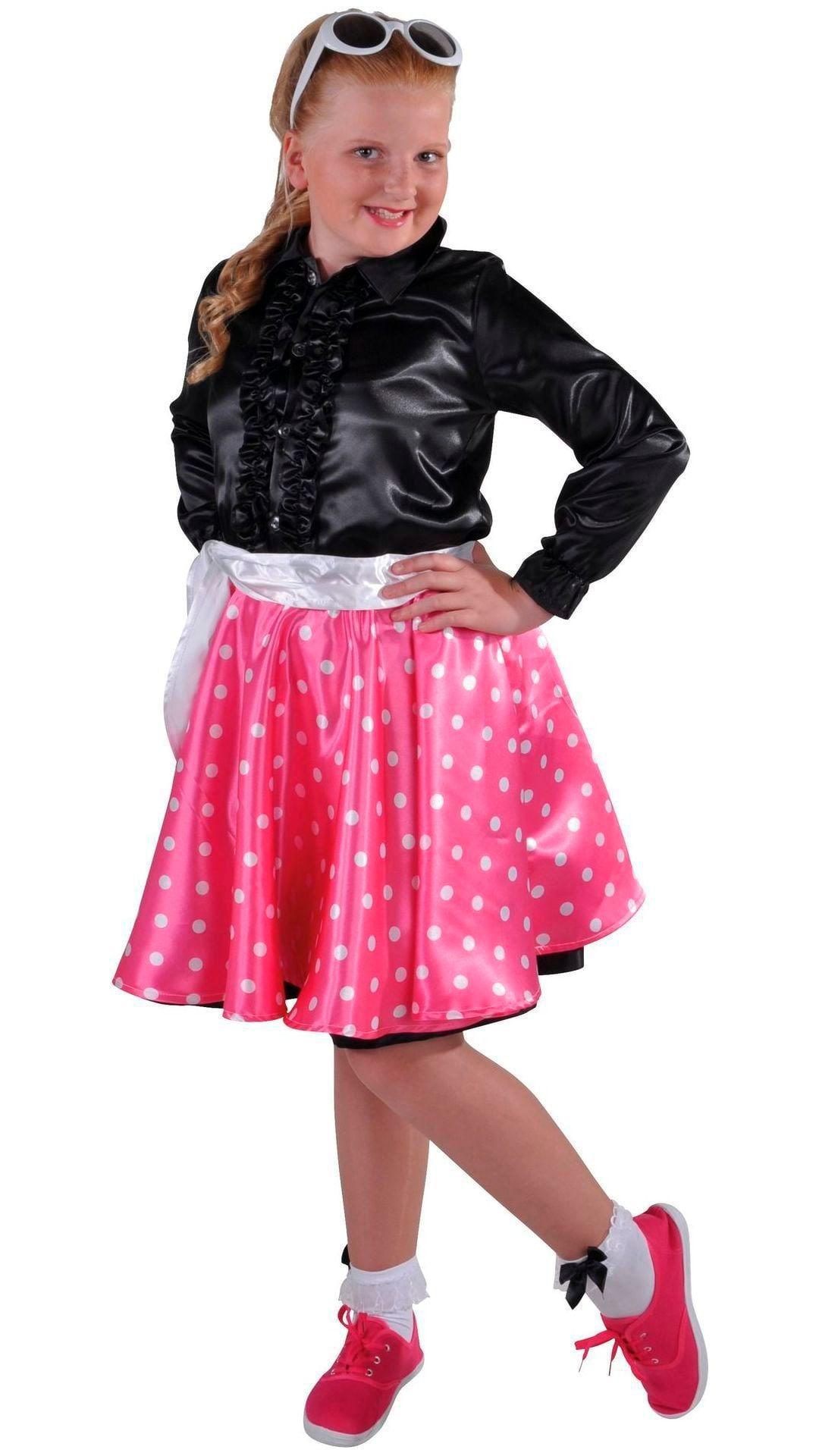 Roze Rock en Roll rok meisjes