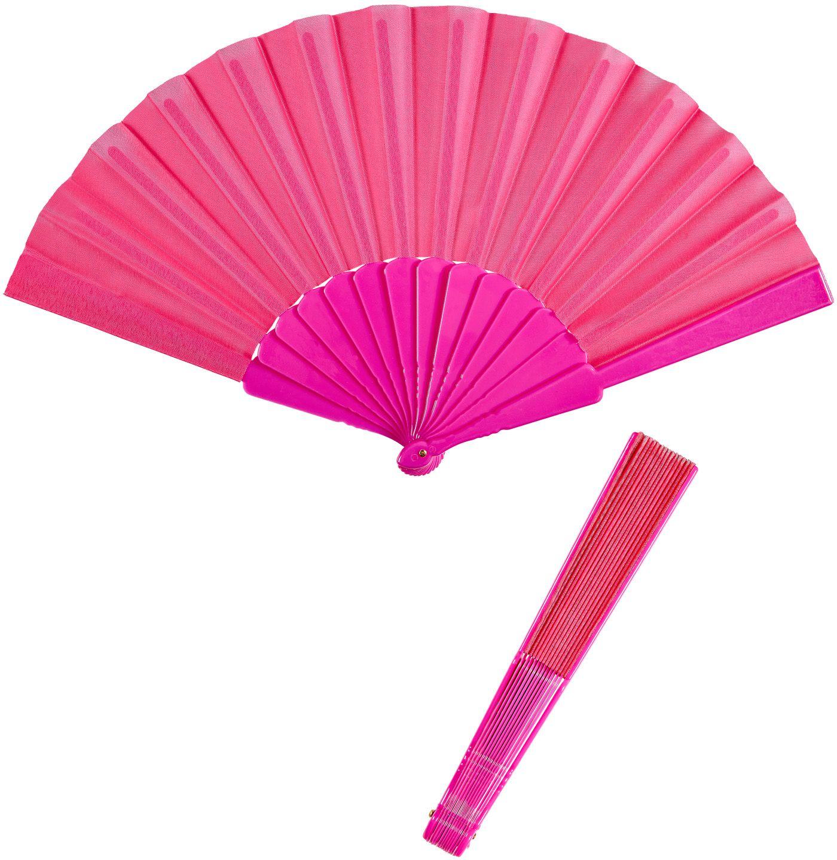 Roze stoffen waaier