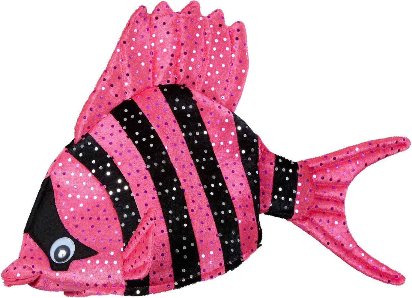 Roze vis hoed