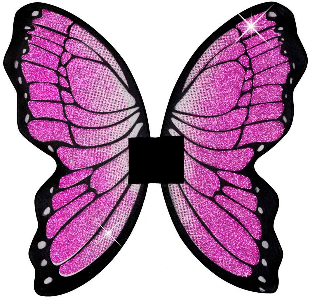 Roze vlinder vleugels