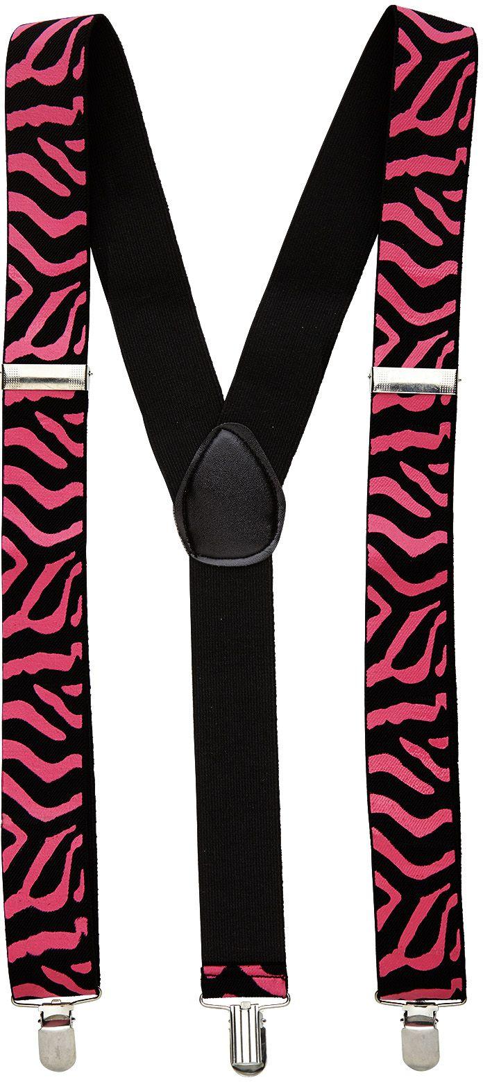 Roze zebra print riem