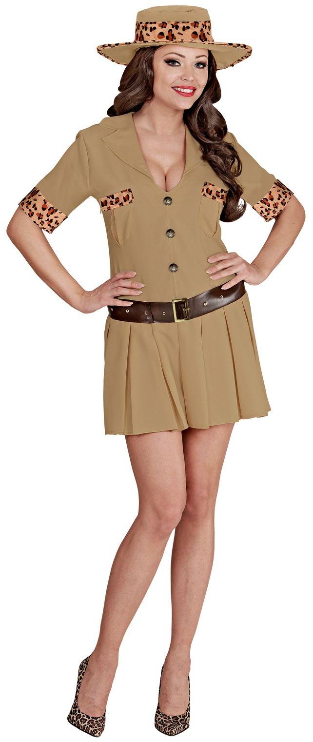 Safari kostuum dames