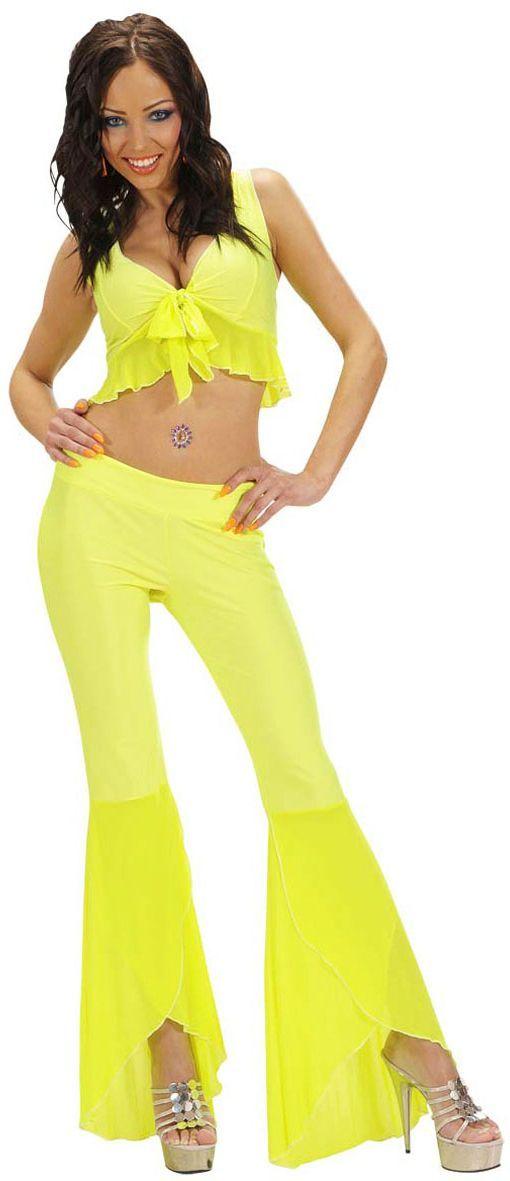 Samba kleding geel
