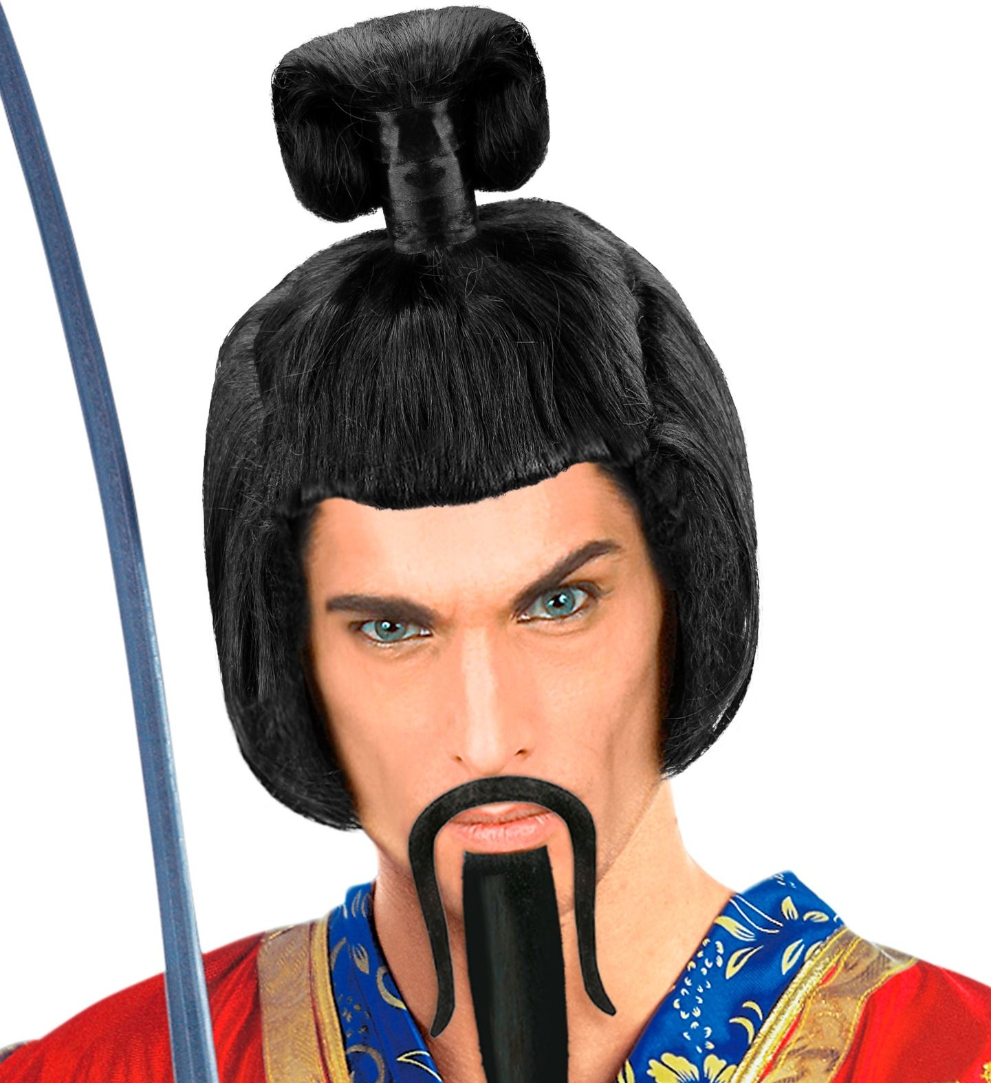 Samurai pruik