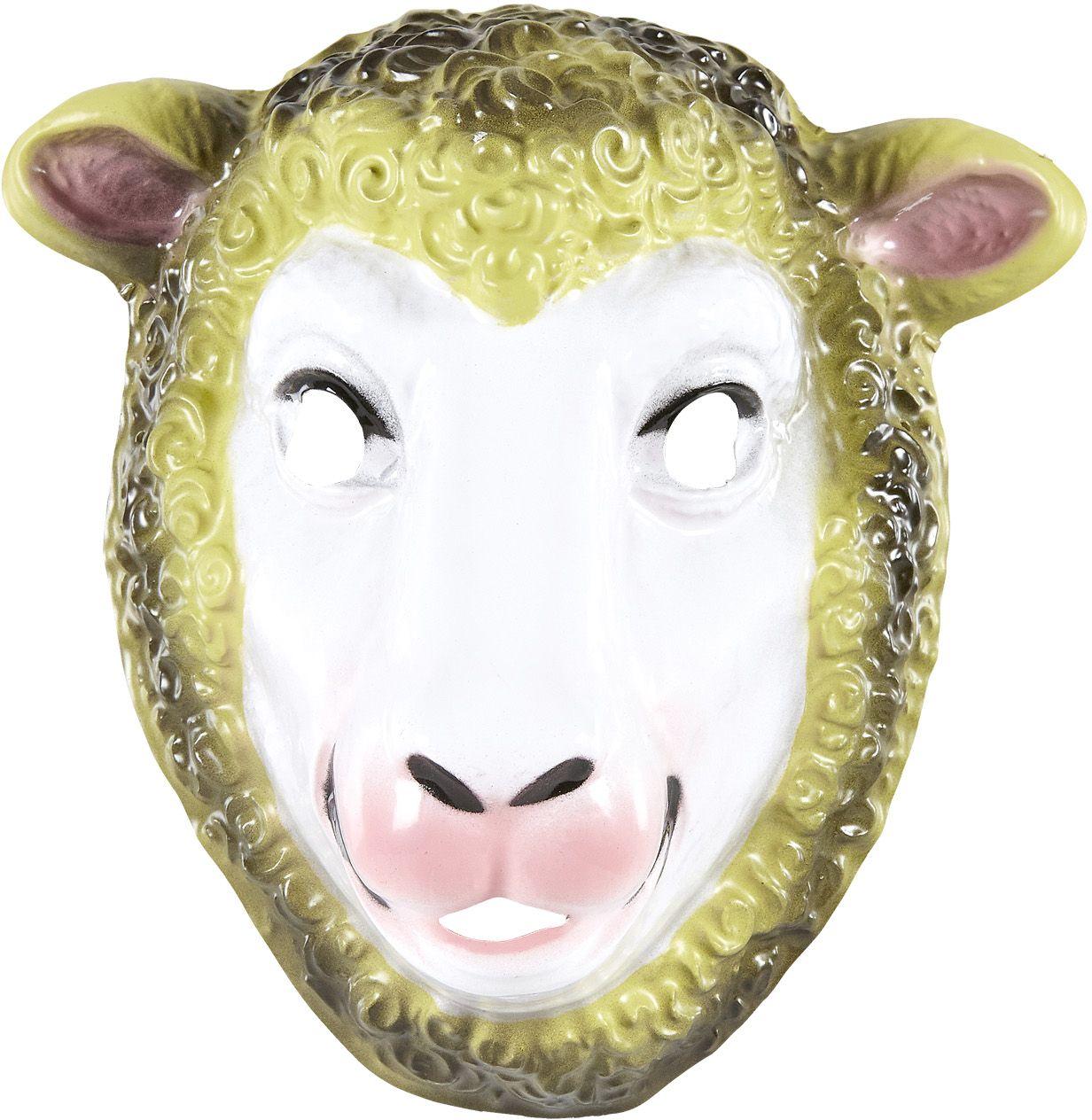 Schapen masker kind pvc